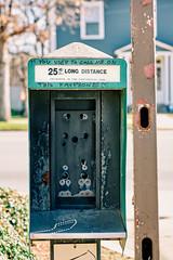 Flashbacks (Dysfunctional Photographer) Tags: payphone broke street house pole littlerock arkansas usa 2020 nikon z7 nef raw captureone urban broadwaystreet