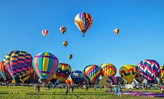 Jyns Tonic and group (ABQ) (edit) (MO FunGuy) Tags: 2019albuquerqueinternationalballoonfiesta newmexico hot air balloon