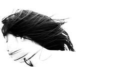 隨 風 (Wilson Au   一期一会) Tags: hongkong lady hair wind blackandwhite monochrome portrait fujifilm xe2 fujinon xf35mmf14r bestportraitsaoi