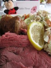 Table Three1 (annesstuff) Tags: annesstuff food buffet valentinesday roastbeef yorkshirepudding saladbar lemon nici german