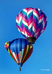 Sweet Caroline II (ABQ) (edit) (MO FunGuy) Tags: 2019albuquerqueinternationalballoonfiesta newmexico hot air balloon