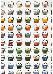 Postcrossing CA-978509 (booboo_babies) Tags: recycling bags handbags freitag advertisement postcrossing