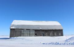 Old barn (pegase1972) Tags: quebec qc québec monteregie montérégie barn grange étable winter hiver neige ice canada snow rural