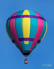 Miss Shenanigans 1a (ABQ) (edit) (MO FunGuy) Tags: 2019albuquerqueinternationalballoonfiesta newmexico hot air balloon