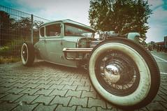 Flötentöne (black#light) Tags: auto fahrzeug vehicle car wheel rad old alt hodrod laut loud pipes loudpipessavelives rumblenthunder chop channel