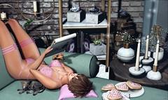 ♥ (♛Lolita♔Model-Blogger) Tags: lolitaparagorn glitzz luanesworld dahlia blog blogger blogs beauty bodymesh bento