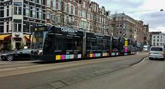 Va Banque 1 (Peter ( phonepics only) Eijkman) Tags: amsterdam city combino colorbino gvb tram transport trams tramtracks trolley rails rail strassenbahn streetcars nederland nederlandse netherlands noordholland holland