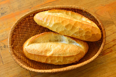 Vietnam bread (Banh Mi) for breakfast (phuong.sg@gmail.com) Tags: asia asian background baguette bake baked bakery bamboo banhmi basket bread breakfast brown cake closeup cook crust cuisine culture delicious eat flour food french fresh fried gourmet healthy homemade hongkong kitchen loaf local lunch meal nutrition organic roll snack steamed tasty texture tourism tourist traditional travel vietnam vietnamese wheat wicker