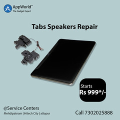 tabs speakers (Appworldindia) Tags: likeforlikes repair services laptops hyderabad india apple samsung online service quality mobiles tab