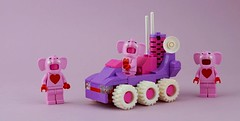 Febrovery 2020 Day 14 (TFDesigns!) Tags: lego rover febrovery valentine valentines elephant heart alien space