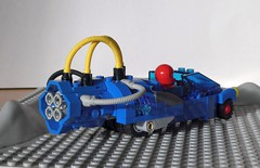 Afterburner - Febrovery 2020-15 (captain_j03) Tags: toy spielzeug 365toyproject lego minifigure minifig moc car auto febrovery space rover blue blau