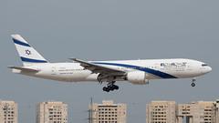 El Al B772, 4X-ECF, TLV (LLBG Spotter) Tags: elal aircraft tlv b777 airline 4xecf llbg