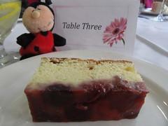 Table Three2 (annesstuff) Tags: annesstuff valentinesday ladbug lovebug buffet dessert strawberry cake nici german