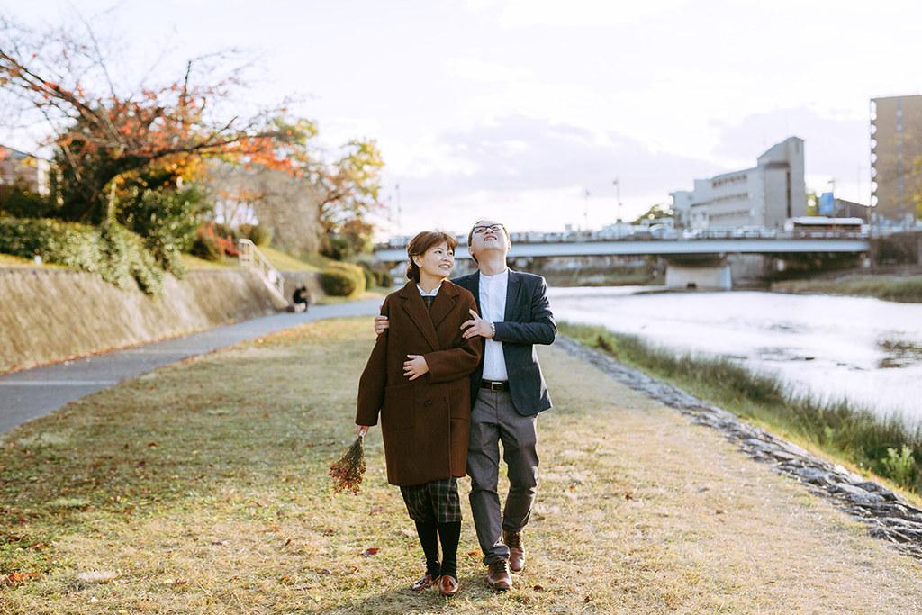 自助婚紗,京都婚紗,便服婚紗,婚紗照,女攝影師,自然風格,自然風格婚紗,旅拍,京都,雙子小姐