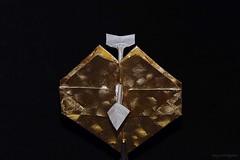 Origami Valentine (Patricia Crawford) (De Rode Olifant) Tags: qqm16 qqm16cuoridicarta diagrams origamivalentine patriciacrawford origami paper paperart papiroflexia theartofpaperfolding3 robinharbin heart origamiheart origamiheartandarrow heartandarrow 3d valentinesday