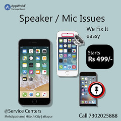mobile speaker issues repair (Appworldindia) Tags: likeforlikes repair services laptops hyderabad india apple samsung online service quality mobiles tab
