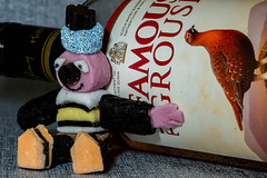 """""""Sweets for my Sweets"""" (daveknight1946) Tags: sweetsformysweets smileonsaturday allsorts liquoriceallsorts sweets whiskey redgrouse bottle"""
