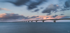 Zeeland Bridge (Jongejan) Tags: zeelandbridge bridge zeeland schouwenduiveland noordbeveland oosterschelde zierikzee water sky clouds