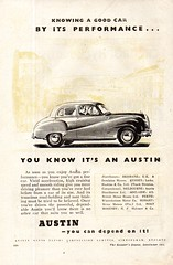 1953 Austin A70 Hereford Saloon Aussie Original Magazine Advertisement (Darren Marlow) Tags: 1 3 5 7 9 19 53 1953 a austin a70 h hereford s saloon c car cool collectible collectors classic automobile v vehicle e english england b british britain 50s