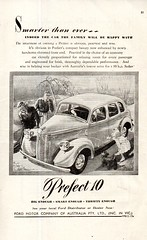 1949 Ford Prefect 10 Sedan Aussie Original Magazine Advertisement (Darren Marlow) Tags: 1 4 9 19 49 1949 f ford p precfect 10 s sedan c car cool collectible collectors classic a automobile v vehicle e english england b britain british 40s