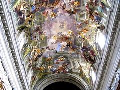 ROMA - LA IGLESIA DE SAN IGNACIO - BOVEDA (mflinera) Tags: roma italia iglesia san ignacio boveda pintura arte