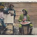 Black Americana Antique Postcard WATERMELON THEME GIVE US DE RINE AINT GOIN TER BE NO RINE 1901 Artist F.L. Howe White Border Card c.1920