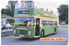 CUMBERLAND 2037 UWV618S (SCOTTISH BUS ARCHIVES) Tags: uwv618s bristolvrt ecw southdown cumberland 2037 618 opentopbus