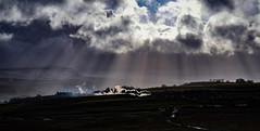 Steam slogging up the grade at Ribblehead (robmcrorie) Tags: jubilee 45562 alberta ribblehead viaduct 1z57 0651 carnforth carlisle pendle dalesman 1z10 steam nikon d850