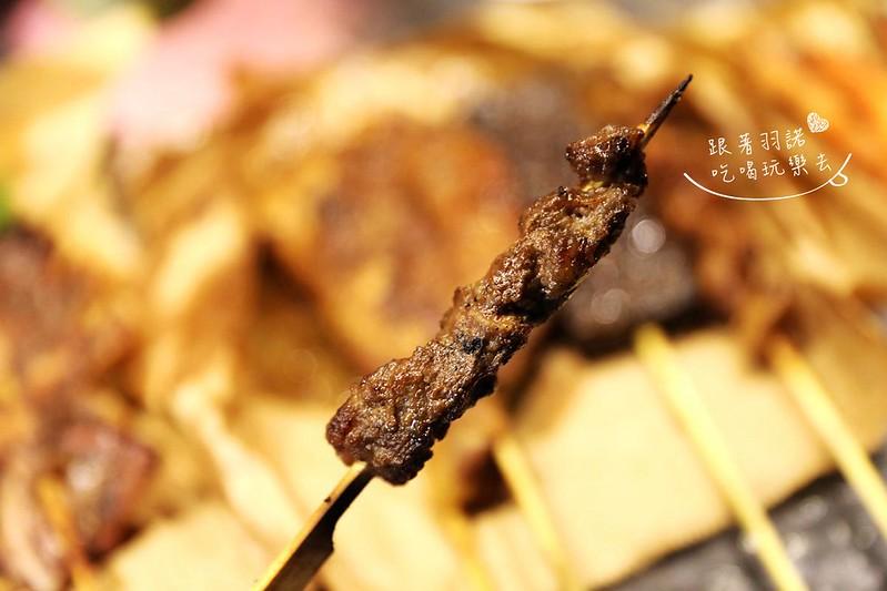 焦糖楓漢方無烟撒粉串燒150