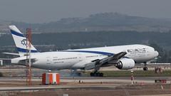El Al B772, 4X-ECF, TLV (LLBG Spotter) Tags: elal 4xecf tlv aircraft b777 airline llbg