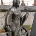Lermoos, Ortsmitte (26) - Statue der Heiligen Katharina
