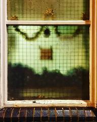 City Window (Richard_Wain) Tags: nottingham window night christmas