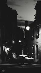 Toyota 2000GT (Unedited) (at1503) Tags: bw blackandwhite toyota 2000gt toyota2000gt classiccar iconiccar classictoyota japanesecar 1960scar italy venice sky buildings urban light shadows street night dark unedited gtsport granturismo granturismosport motorsport racing game gaming ps4