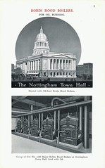 Nottingham's New Council House Heated by Beeston Boilers. 1929 (growlerthecat) Tags: nottingham beeston robinhood boilers