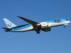 TUI Airways | Boeing 787-8 Dreamliner | G-TUIH (Bradley's Aviation Photography) Tags: glasgow egpf gla glasgowairport scotland canon70d avgeek aviation flying b788 787 b787 dreamliner tuiairways boeing7878dreamliner gtuih