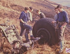 Shackelton crash Mull of Kintyre 19 Apr 1968 (RAFMRA) Tags: rafmrs rafmountainrescue rafmra rafmountainrescueassociation raf mountainrescue mountainrescueservice mountainrescueassociation mrt kinlossmrt198689