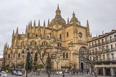 Catedral de Segovia (lebeauserge.es) Tags: segovia españa ciudad calle plaza edificio historico historia iglesia catedral
