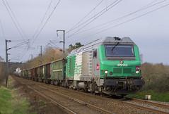 72124/125 pour Rennes (- Oliver -) Tags: sncf train fret bb75000 bb75058 transcereales
