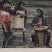 Black Americana Antique Postcard WATERMELON THEME GIVE US DE RINE AINT GOIN TER BE NO RINE 1901 Artist F.L. Howe Publisher Raphael Tuck and Sons Card