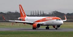 G-UZHZ easyJet Airbus A320-251 neo (ahisgett) Tags: manchester man ringway airliner a320 neo