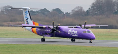 G-JECM Flybe Bombardier DHC-8-402Q Dash 8 (ahisgett) Tags: manchester man ringway airliner bombardier de havilland canada