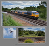 Traction movements at Barrow Hill, Foxlow Junction & Slitting Mill - 8729+18+23