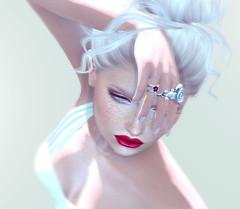 KUNGLERS - Sarah rings (AvaGardner Kungler) Tags: kunglers avagardnerkungler secondlife treschic sealife rings jewelry mesh digital virtual 3d model fashion