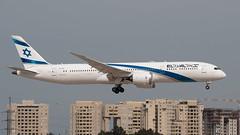 El Al B789, 4X-EDB, TLV (LLBG Spotter) Tags: elal b787 tlv aircraft airline 4xedb llbg