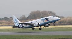 G-FBJC Flybe Embraer ERJ-175STD (ERJ-170-200) (ahisgett) Tags: manchester man ringway airliner