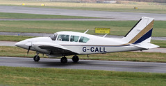 G-CALL - Piper PA-23-250 Aztec (ahisgett) Tags: manchester man ringway