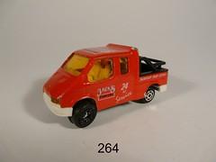 Majorette 200 Series №264 →  FORD TRANSIT PICK-UP 1/60 Thailand 1991-'96 (Xerocomis) Tags: diecast modelauto model majorette 200 series №264 → ford transit pickup 160 thailand 1991'96