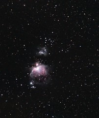 M42, M43, Running Man, Fuerteventura 19th Dec 2019 (under2b) Tags: stars space planets messier dso eagle nebula astronomy astrophotography telescope photography sky m42 m32 orion