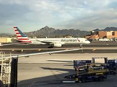 AAL 1887 at PHX (craigsanders429) Tags: americanairlines aircraft airlines airplanes airliners airports 757 boeing747 jet jetliner phoenixskyharborairport