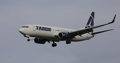 Princely (crusader752) Tags: tarom boeing 737800 yrbgl london heathrowairport 27l shortfinals alexandruioancuxa